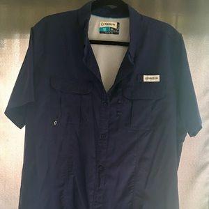277d1445 Magellan outdoors fish gear Angler short sleeve